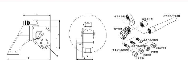 液压扳手结构原理